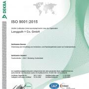 Langguth-Antriebe-Zertifikat-Rezert-ISO-9001-2015-2020